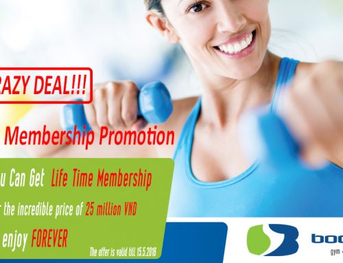 Life Time Membership Promotion